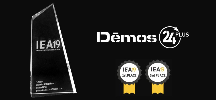 Award for our portal Démos24Plus