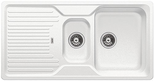 Blanco 521322 Sink Classic 6 S White Without Outflow Remote Control Silgranit All For The Furniture Making