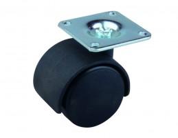 STRONG Castor 40 mm plate black