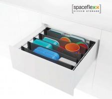 KES 005360 SpaceFlexx organizer for drawer depth 500 mm