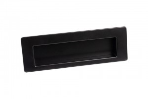 TULIP Handle recessed Shellby black matt