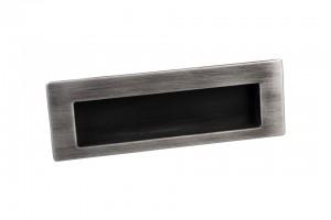 TULIP Handle recessed Shellby antique black