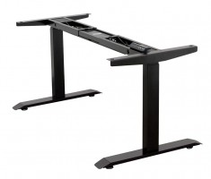 STRONG base with electrically adjustable height black RAL 9005 matt