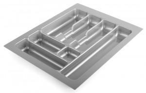 STRONG Cutlery tray 45/490 (385 x 490 mm) silver metallic