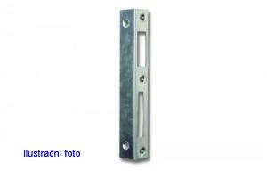 HOBES 1/1 protiplech 72-90mm zinek bílý levý