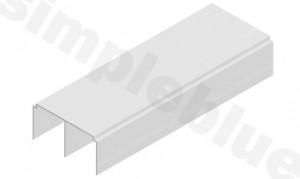 SEVROLL Blue horní vedení 1,5m stříbrná