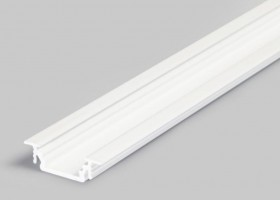 TM-profile LED Groove alu white 4000mm