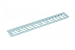 Ventilation grid 130/1000mm anodised aluminium