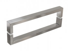 Handrail Ugo 400/420mm Brushed stainless steel