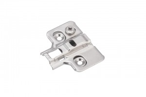 STRONG plus plate H0 with cam adjust, clip type, on screw
