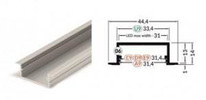 TM-profil LED Vario30-06 (3m) bílý