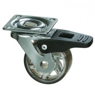 STRONG Castor TOP, 50 mm, with brake