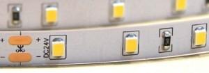 STRONG LED strip 12W/m(120)24V warm white IP65