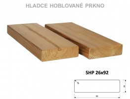 TERASY ThermoWood HRANOL SHP 26/92/4200