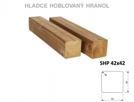 TERASY ThermoWood HRANOL SHP 42/42/4200