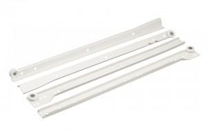 FGV roller bearing slide 400 mm white