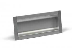 TULIP Handle Malena 96 aluminium