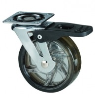 STRONG Castor TOP, 75 mm, with brake