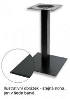 K-STRONG Table leg central 450x450, grey