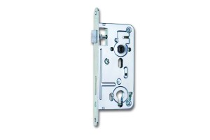 HOBES 24026 lock 90/80 zinc white