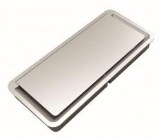 Bushing Light 261x117x25 mm, silver