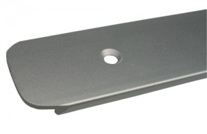 End profile for worktop 38mm 300/3 right