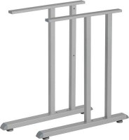 MILADESIGN Desk base G2 ST201E silver