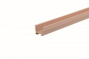 REHAU guide rail 8 mm for milling light brown beech