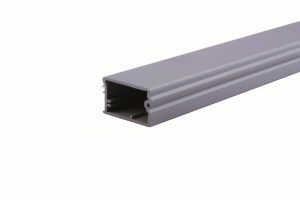 End strip aluminum (plast)