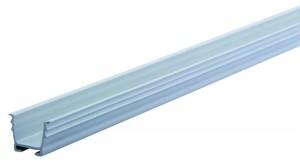 REHAU guide rail 12 mm for milling grey