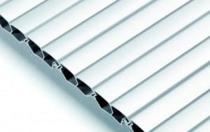 REHAU Roller shutter profile E4 aluminium (plastic)