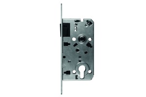 Magnetic lock with plate WC key
