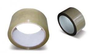 Balicí páska hnědá  š.25mm (66m)