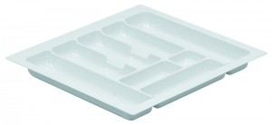 STRONG Cutlery tray 80/490 (735 x 490 mm) white