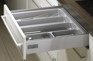 HETTICH 44933 OrgaTray 500, 201-250/470-520 mm silver