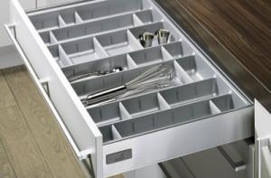 HETTICH 13308 Cutlery tray 470/900 silver