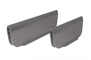 HETTICH 9005931 OrgaTray 590, dividing element 128 mm grey
