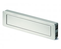 Handle Hettich 9086687 TOUCH-IN angular, steel