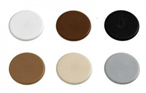 HETTICH 71054 cover cap Rastex 15 plastic white