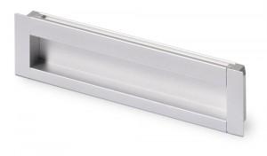 HETTICH 9071071 Handle NIDUM L143/128 anodized aluminum