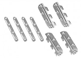 HT 25183 Bed conn.fittings 130 set