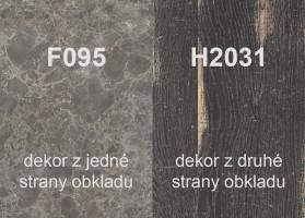 Zástěna H2031 ST10/F095 ST87 4100/640/9,2