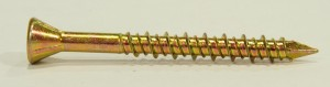 Cetris screw 4,2x35/25  yellow Zn