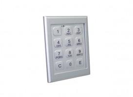 LEHMANN Electronic lock with keyboard M400 TA RAL9006