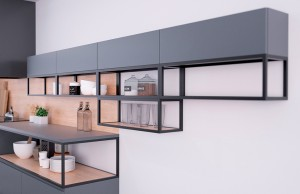 Shelf QB it 600/250/350 black-one shelf
