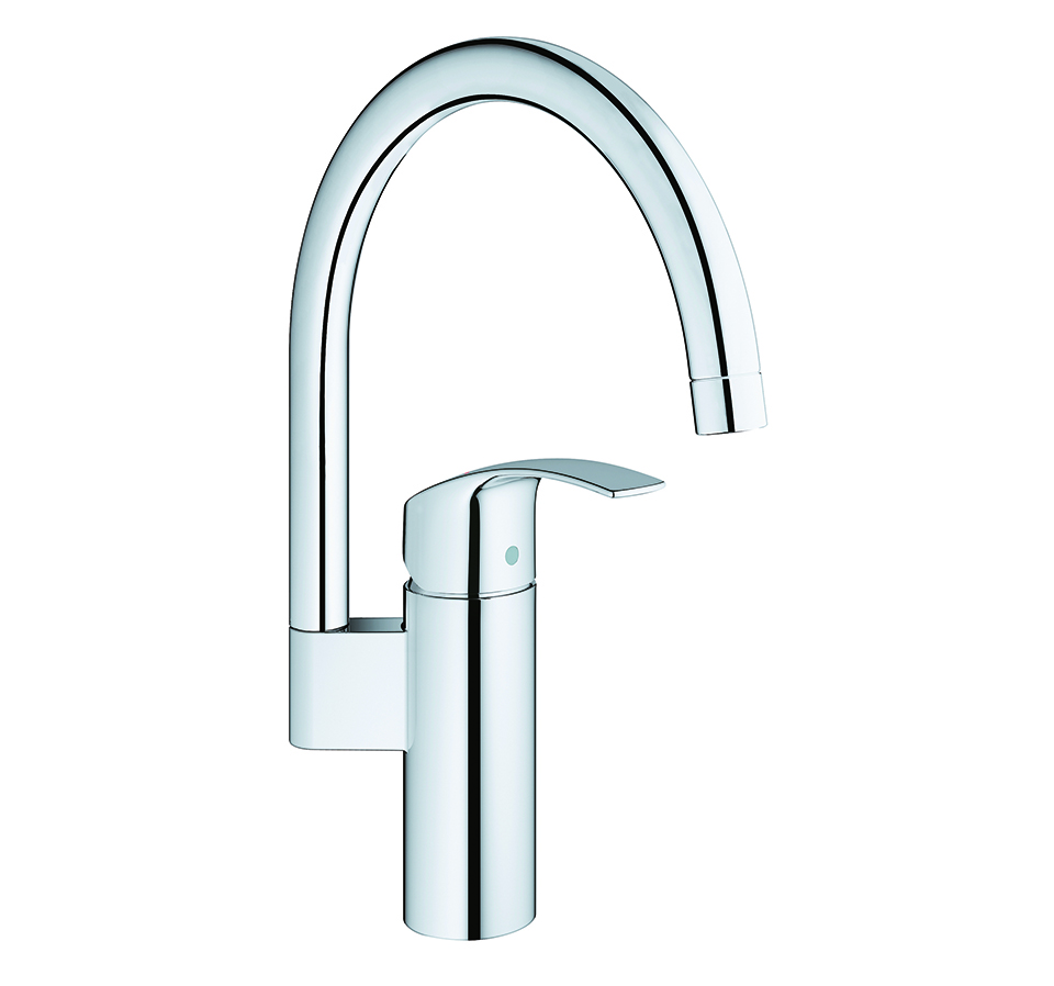 Grohe Kitchen Tap Eurosmart Chrome 3320200 All For The Furniture Making